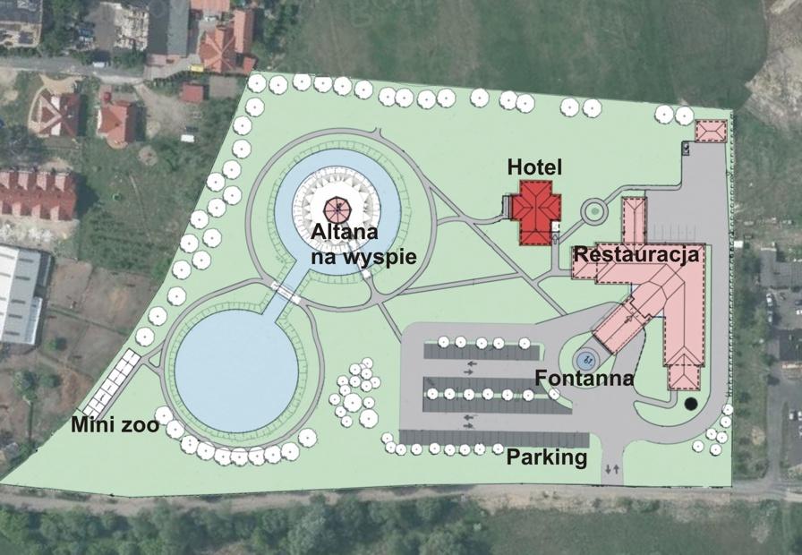 Mapa zagospodarowania terenu